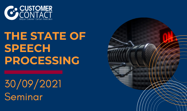 Seminar: The state of Speech Processing in customer contacts